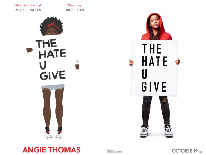 The+Hate+U+Give%2C+as+seen+in+book+cover+and+movie+poster%2C+is+worth+the+read.