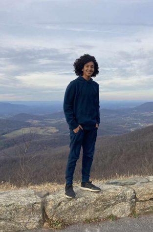 Lewis freshman Yaseen Ali-Taha prefers attending hybrid school this year.